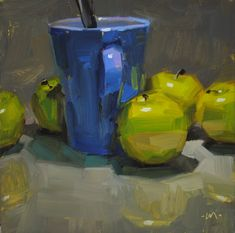 Painting a day workshop - Carol Marine | Gloria's Art Blog