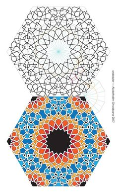 Islamic Motifs, Islamic Art Pattern, Arabic Pattern, Pattern Art, Arabic Calligraphy Art, Arabic Art, Mandala Sketch, Geometric Designs, Geometric Patterns