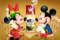 Mickey, Minnie,  & Mary
