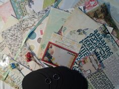 Mega Webster's Pages Scrapbooking Kit 233 by ScrapChicKits on Etsy, $22.99
