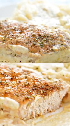 These juicy Slow Cooker Pork Chops are cooked in a creamy sauce that is perfect for mashed potatoes. Serve this family-friendly meal on a busy weeknight. Crockpot Dishes, Crock Pot Cooking, Pork Dishes, Crockpot Recipes, Cooking Recipes, Slow Cooker Recipes Family, Cooking Tips, Easy Pork Chop Recipes, Best Slow Cooker Pork Chop Recipe