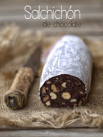 Sweet and savory snacks chocolate sausage Chocolate Lovers, Chocolate Desserts, Chocolate Biscuit Cake, Tapas, Oh Fudge, Delicious Desserts, Yummy Food, Brunch, Savory Snacks
