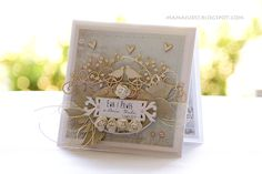 Craft and You Design: Ślubna kartka/ A wedding card
