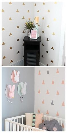 WOW, what a lovely baby's room decoration! The little triangle wall stickers are so modern and chic! Shop more wall stickers style here.Last call to our Christmas sales! Lightning Deals will got your amazed! Exciting Deals of the Day, and savings on your wallet.