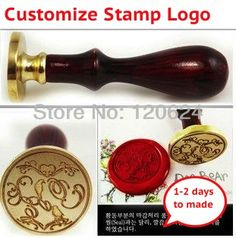 customize stamp wedding logo league DIY gift only ancient seal stamp, Personalized stamp wax seal to custom design Free Shipping-in Stamps from Office & School Supplies on Aliexpress.com   Alibaba Group