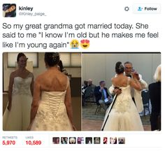 This great-grandma who found love. | 17 Tweets That Prove Grandparents Are…