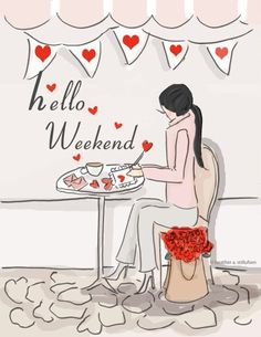 (March 7, 2015) ~Hello Saturday