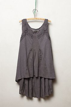 Tonala Tank - anthropologie.com.  Too bad it's $78! I might be able to make a similar style top.