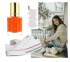 """""""Autumn day"""" by edisa-sa ❤ liked on Polyvore featuring Converse"""
