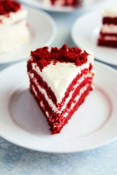 Red velvet cake – My Kitchen Stories Small Dining Area, Kitchen Stories, Red Velvet, Velvet Cake, Fika, Open Kitchen, Coffee Cake, Cake Cookies, Baked Goods