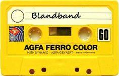 """Blandband! Man spelade in från """"Rakt över disc"""" eller """"Poporama"""" och ondgjorde sig över att Clabbe började prata innan låten var slut ..."""