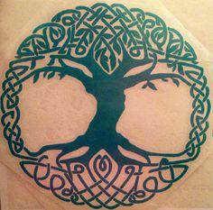 Tree if Life Vinyl Decal
