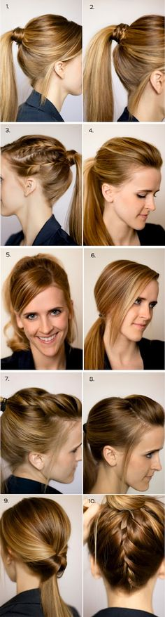 working hair style
