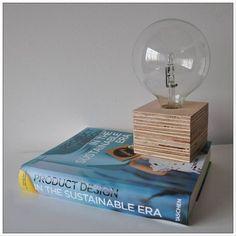 lámparas de mesa hechas a mano, modelo Elena