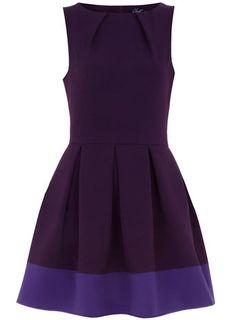 little purple dress.