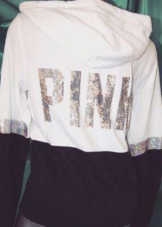 vs pink • hoodie