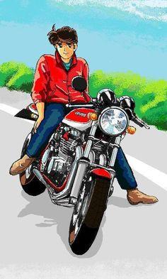 あいつとララバイって漫画しってるかいwww 僕が中学生の時に少年マガジンで連載されていたバイク漫画です。 どう… Bike Drawing, Cartoon Toys, Jojo Bizzare Adventure, Bike Design, Aesthetic Art, Car Pictures, Comic Art, Manga Anime, Honda