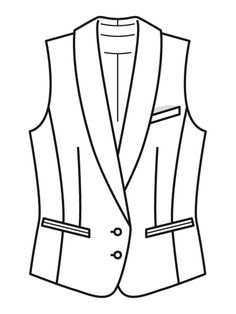 Style Magazin, Easy Bun Hairstyles, Clothing Sketches, Technical Drawing, Blazer, Couture, Jackets, Clothes, Fashion