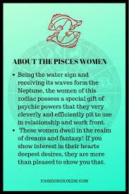 Pisces Traits Female Google Search In 2020 Pisces Traits Pisces Horoscope Pisces