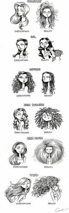 #Hair expectations reality check!