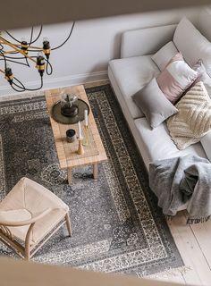 Простота, которая притягивает: очаровательная квартира в Мальме (71 кв. м) | Пуфик - блог о дизайне интерьера