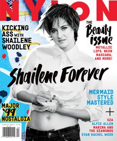 Shailene Woodley is our April cover star!