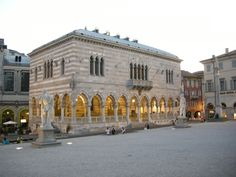Piazza del Lionello, Udine, Italy (where my sweetheart's mother's family is from)