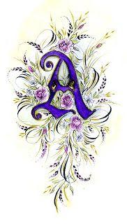 Ink Flourishes Alphabet Art, Alphabet And Numbers, Letter Art, Graffiti Alphabet, Calligraphy Letters, Typography Letters, Hand Lettering, Flourish Calligraphy, Islamic Calligraphy