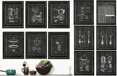$3.35 for fine art Kitchen Classics! Vintage Patent Kitchen Prints - Main Photo