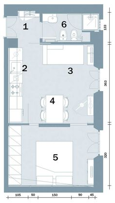 6 Beautiful Home Designs Under 30 Square Meters [With