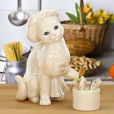 2-piece Kitty's Cafe Figurine by Lenox
