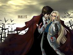 Alucard+Integra (Hellsing)