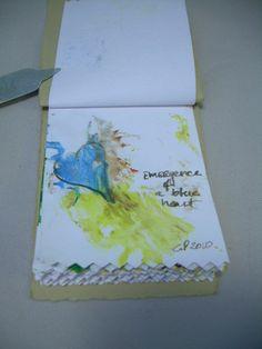 Original Art Miniature Artist Book 16 Splatter Impressionist Paintings OOAK | eBay