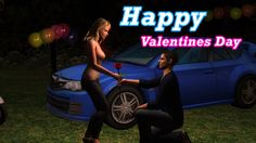 Happy Valentines Day Video Greetings E Card | Whatsapp - Facebook-Friend...
