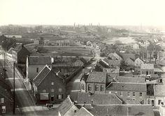Dorpspanoramo Tegelen anno 1915