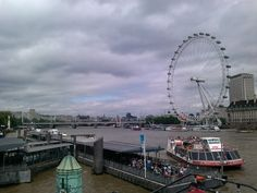 EYE OF LONDON - View from Westminister Millennium Pier