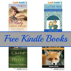 Free Kindle Book List: Ruby, Clutter Free, Child of the Mist, and More