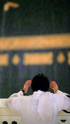Combining Prayers During Rain, is it Allowed? Islamic Image Hd, Islamic Art, Islamic Pictures With Quotes, Islamic Quotes, Islamic Wallpaper Hd, Sufi Saints, Masjid Al Haram, Mekkah, Islamic Prayer