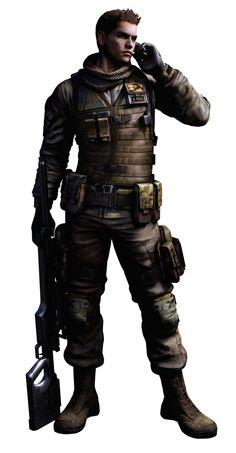 resident evil characters | Resident Evil 6 - Character artworks