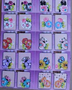 Arte Floral, Nails, Manicures, Nail Art, Photo And Video, Instagram Posts, Amanda, Mermaid, Nail Stickers