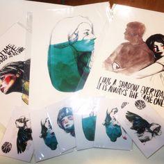 #láminas y #postales de @paulabonet en #Granada en #materialrevolution #ilustracion #illustration