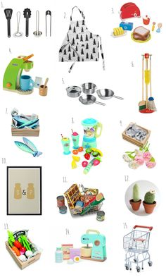 Play Kitchen Accessories