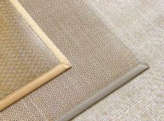 Diferentes texturas de las alfombras de vinilo, en tonos claros.