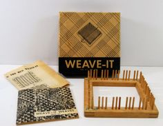 "5"" square Weave-It Rug Loom"