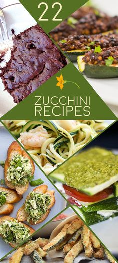 These easy recipes prove zucchini is one of the most versatile vegetables ever.