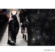 Fashion desig  inspiration from nature