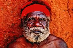 Aborigines are the world's oldest continuous culture, and though they arrived in Australia between 40,000 and 60,000 years ago, their appearance has not changed significantly. They typically have deep-set eyes, broad noses, full lips and prominent cheekbones.