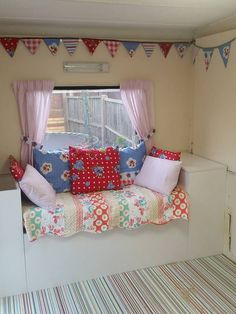 Bunting, Toddler Bed, Blue, Furniture, Home Decor, Homemade Home Decor, Garlands, Buntings, Home Furnishings