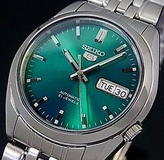 Seiko/SEIKO5 automatic volume mens watch metal belt green character Edition SNK543K1 (overseas model)