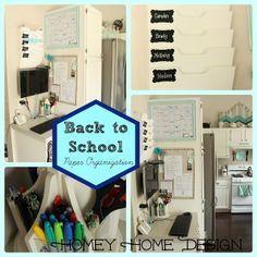 Back To School Organization Part 1